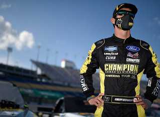 Grant Enfinger -- Texas Motor Speedway Preview