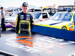Late-Race Incident Relegates Grant Enfinger To A 31st-Place Finish At Las Vegas