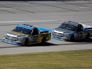 Grant Enfinger Finishes 13th at Talladega - Advances to the Round of 8