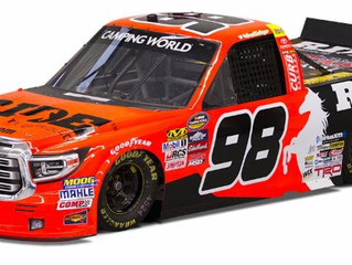 Grant Enfinger, No. 98 RIDE TV Toyota Tundra