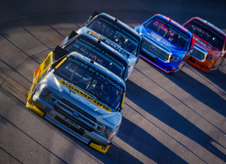 Grant Enfinger Scores Track-Best Third-Place Finish in the Blue Emu 200 at Kansas Speedway