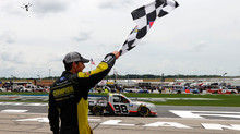 Grant Enfinger Wins In Atlanta With Last-Lap Pass - Claims His Second Victory of 2020
