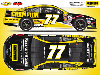 Grant Enfinger to drive for Chad Bryant Racing at Five Flags Speedway