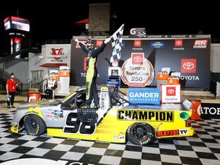 Grant Enfinger Victorious at Richmond Raceway