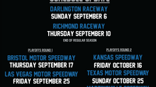 NASCAR Announces Remainder of 2020 Schedule