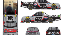 ADS/Lucas Oil Partner With Grant Enfinger  For The First Gander Trucks Playoff Race Of 2020 At Brist