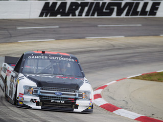 Grant Enfinger Rallies To Finish Fourth At Martinsville