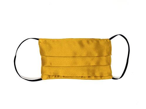 Silk Face Mask - Gold
