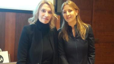 Rosanna Buquicchio di Vivere con Filosofia con la Giornalista Scientifica RAI Barbara Carfagna - Conferenza del 30/01/2019 presso Sala Marconi CNR Roma