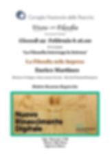Vivere con Filosofia presenta: La Filosofia nelle Imprese con Dott. Enrico Martines di Hewlett Packard Enterprise HPE - CNR Roma 22/02/2018