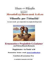La scommessa di Pascal seminario filosofia per l'attualità 27 gennaio 2016 Roma Vivere con filosofia