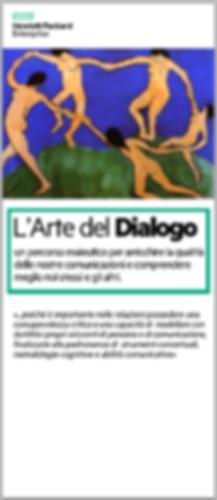 Hewlett Packard Enterprise HP L'arte del Dialogo consulenza filosofica con Rosanna Buquicchio di Vivere con Filosofia Roma