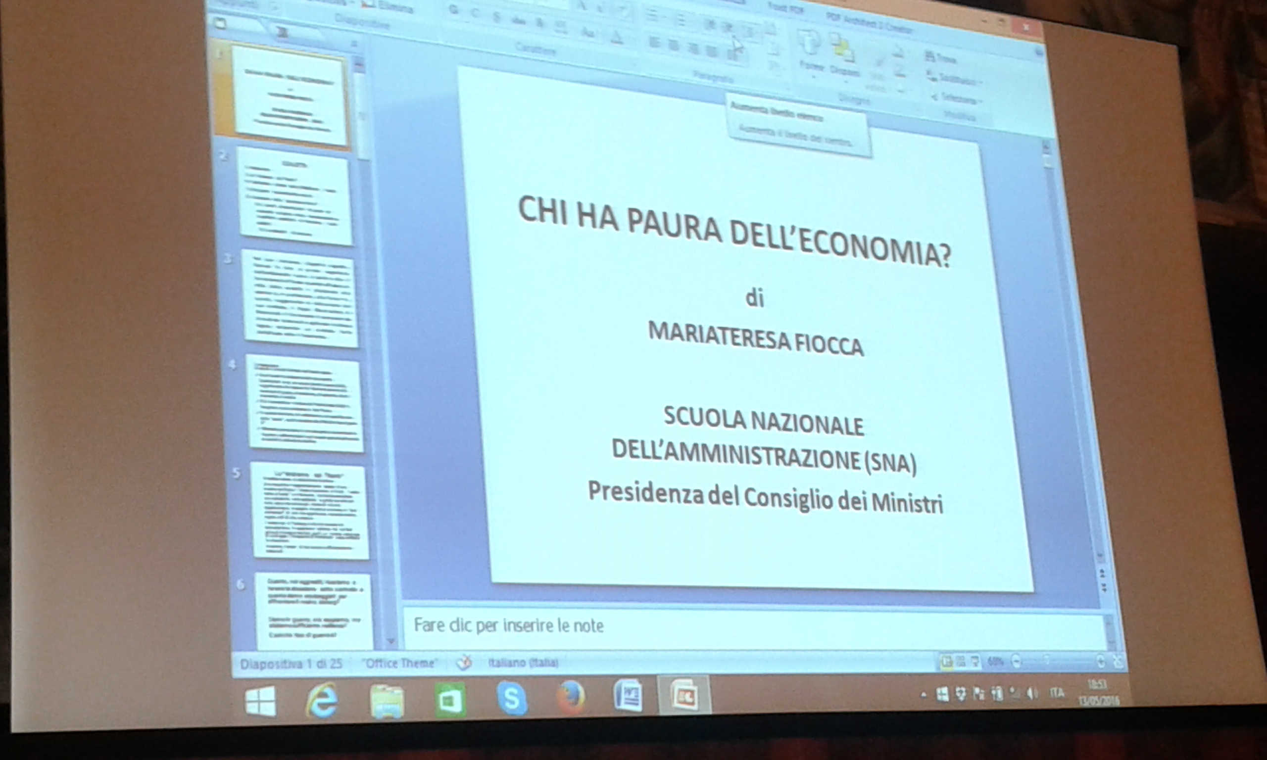 Chi ha paura dell'economia? - Foto1