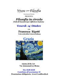 Salotto filosofico sul tema l'ironia - Roma 7 giugno 2016 - ciclo di incontri Emozioni in circolo