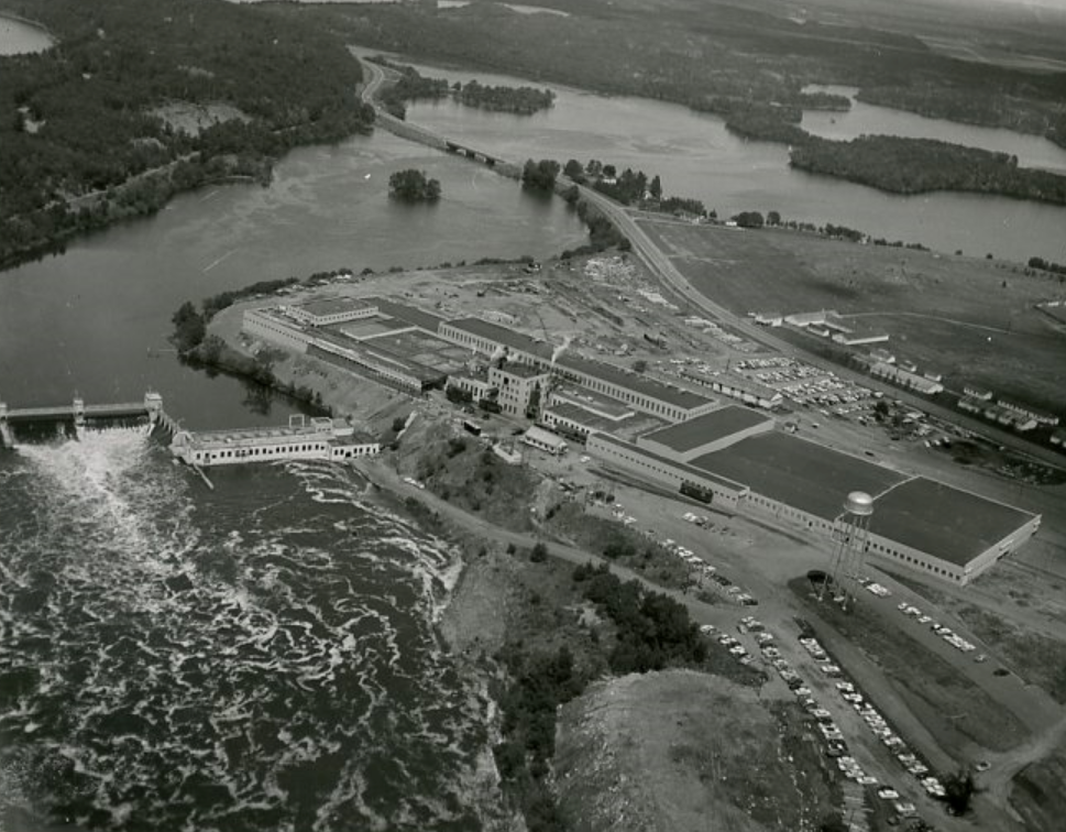 Southwest aerial of Mill