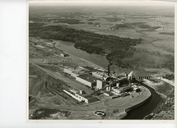 Aerial view of Mill