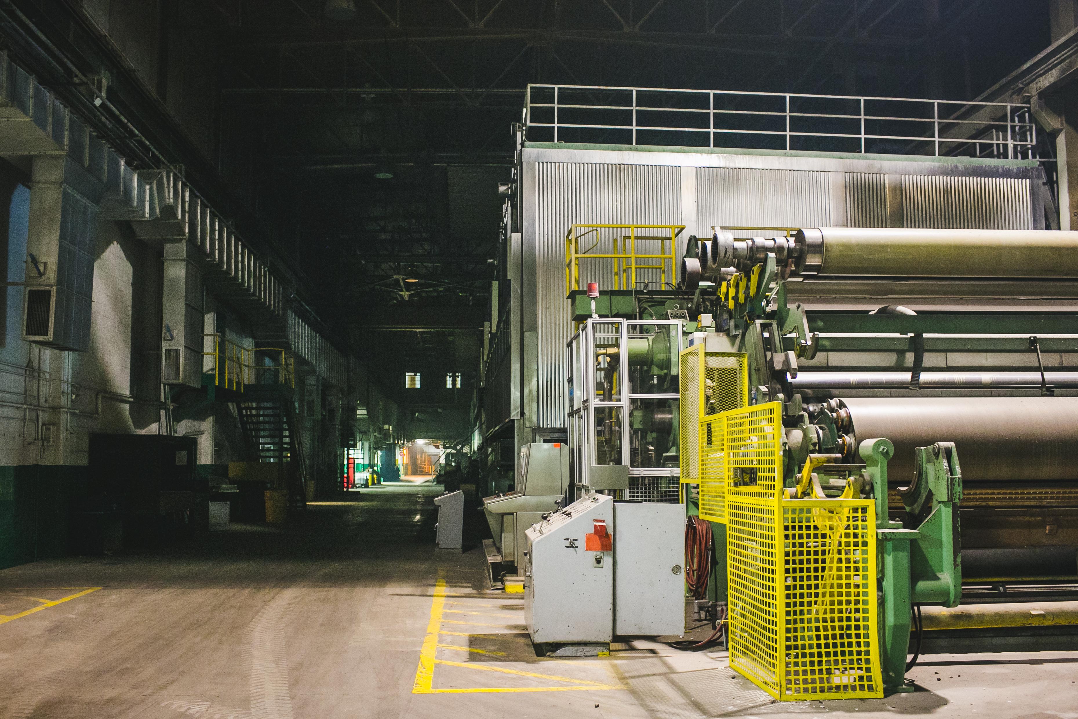 Brainerd Industrial Center Print Machine