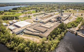 Arial View of Brainerd Industrial Center
