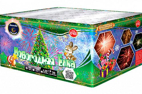 Батарея салютов Новогодняя ёлка