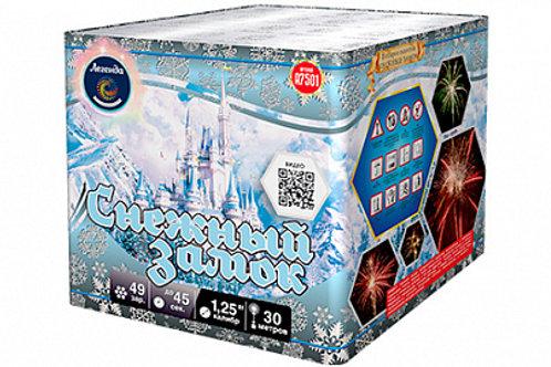 Батарея салютов Снежный замок