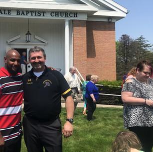 Pastor Jim with Pastor DavidHill