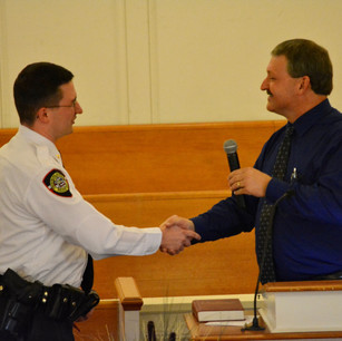 Frostburg Police Chief Nick Costello