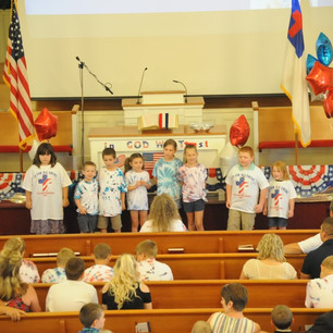 Bible School Program
