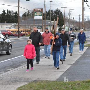 Good Friday Crosswalk