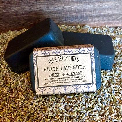 Black Lavender Coconut Cream Soap