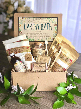 Deluxe Earthy Bath Set