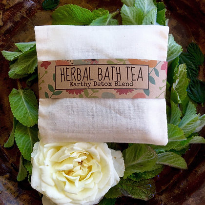 Earthy Detox Bath Tea