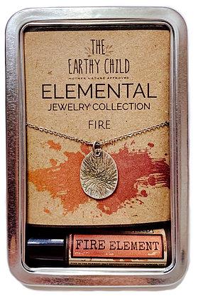 Fire Element Zen Tin