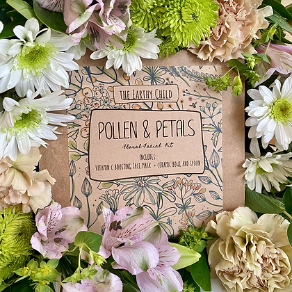 Pollen and Petals Facial Set