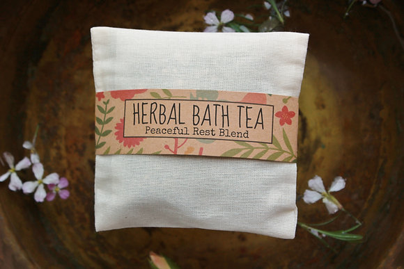 Peaceful Rest Bath Tea 3pk