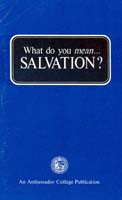 What do you mean... SALVATION