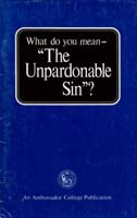 "What do you mean ""The Unpardonable Sin""?"