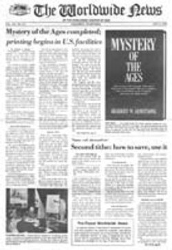 WWN 1985 (Prelim No 16) Aug 501