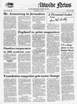 WWN 1976 (Prelim No 18) Aug 3001