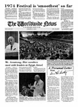 WWN 1974 (Prelim No 20) Oct 1401