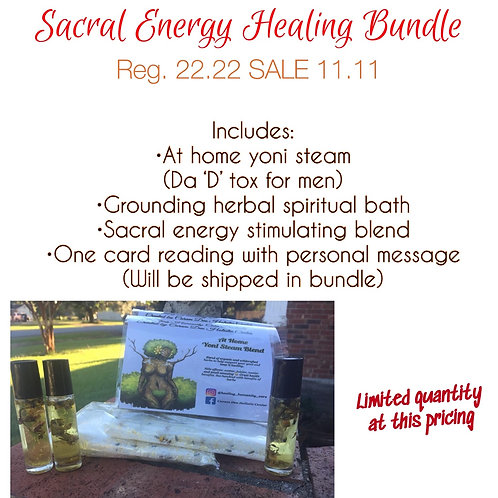 Sacral Energy Healing Bundle