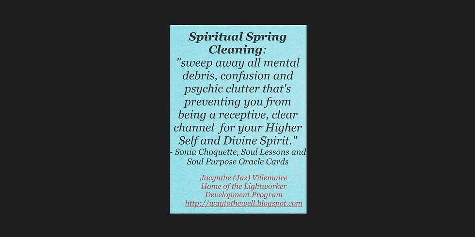 Spiritual Spring Cleaning Workshop