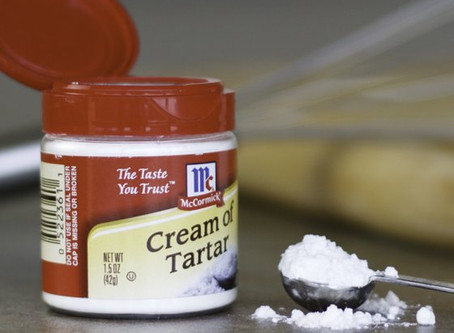 Migraine Relief with Cream of Tartar