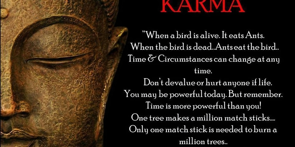 Understanding your Karma