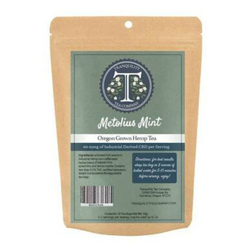 Metolius Mint  CBD Tea