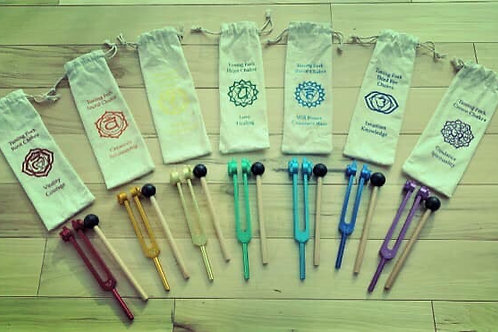 Chakra Tuning Forks-buy set and save!