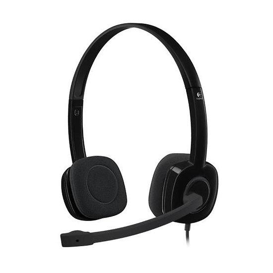 Logitech H151 Stereo Headset  Single 3.5mm Jack