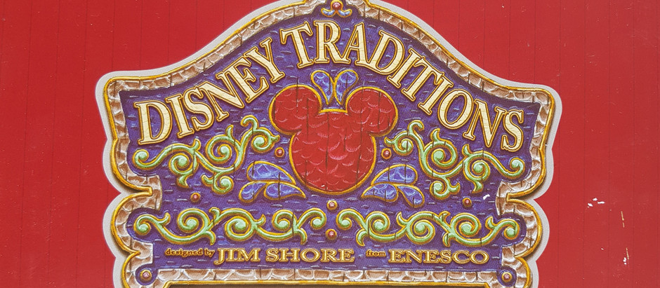 From The Collection - Jim Shore Disney Traditions Statues (2016)