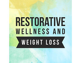 Restorative Welness and Weight Loss Logo