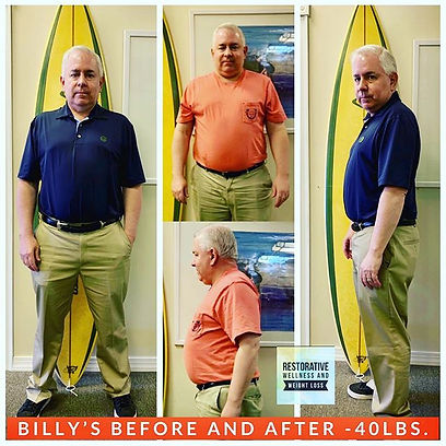 40 Pounds down for Billy so far! We are