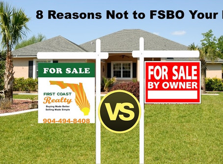 8 Reasons Not to FSBO Your Property